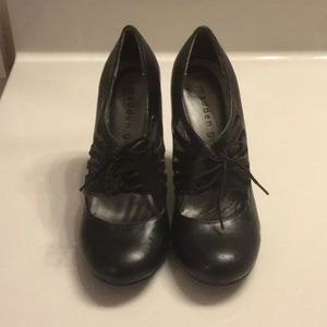 Madden Girl lace up Mary Janes SZ 6